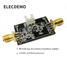 лучшая цена AD8313 Module Multistage Demodulation Logarithmic Amplifier 0.1GHz-2.5GHz RF Log Detector Function demo board