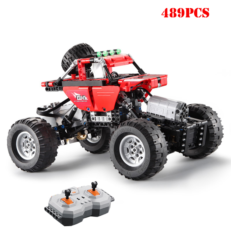 Technic Remote Control RC Car The Ultimate Off Road Climbing Trucks Building Blocks Speed Bricks Children