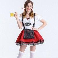 בירה הגרמנית חדרניות אוקטוברפסט מסיבת קרנבל למבוגרים מועדון תלבושות תחפושות ליל כל הקדושים לנשים סקסיות באר ילדה תלבושות Cosplay להתלבש