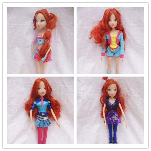 2018 Newest Winx Club Doll rainbow colorful girl Fairy Bloom Dolls  Draculaura Frankie Stein Clawdeen Wolf original winx club bloom musa beautiful girl magiche fan doll collection toys