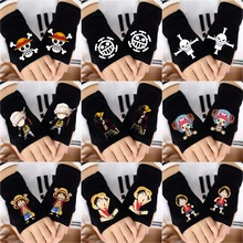 One Piece Anime Fingerless Gloves