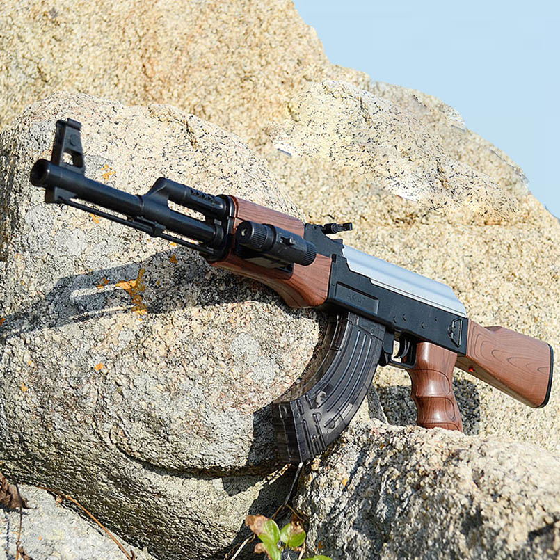 AK47 Electric Bursts Toy Gun Water Bullet Gun Children Boys Rifle Pistol Outdoor Live CS Game
