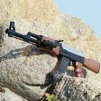 AK47 Электрический всплески игрушечный водный пистолет пулевой пистолет для мальчиков винтовка пистолет на открытом воздухе в прямом эфире ...
