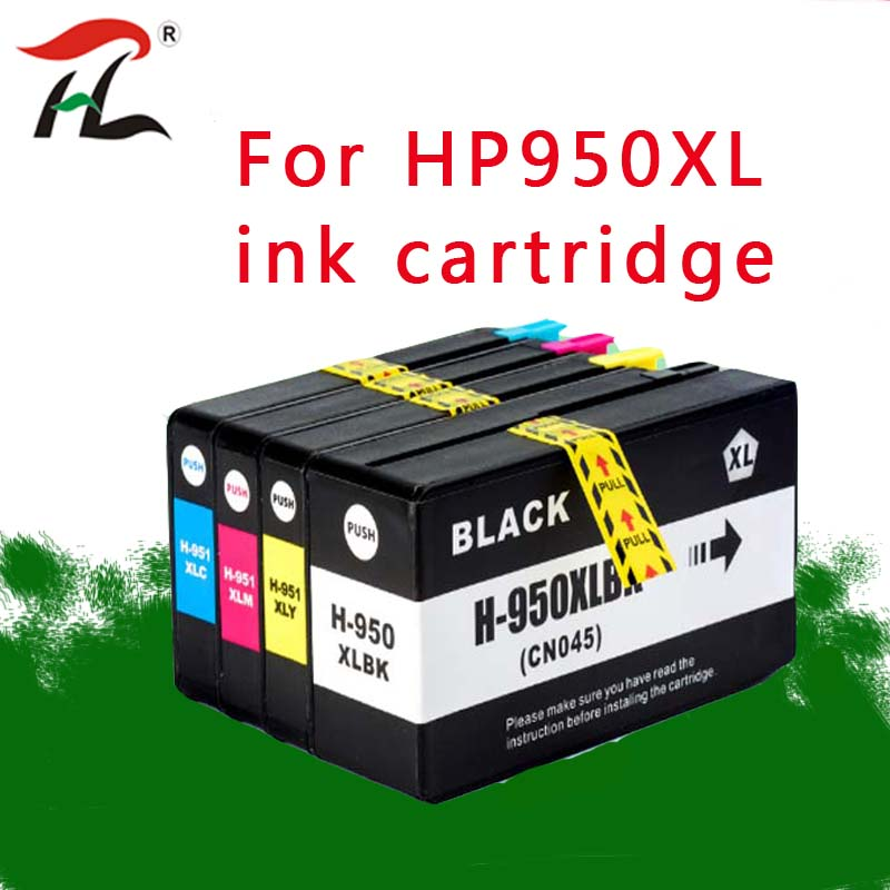 Compatible For <font><b>HP</b></font> 950XL 951XL 950 <font><b>951</b></font> Ink Cartridge For <font><b>HP</b></font> Officejet Pro 8100 8600 8610 8615 8620 8625 251dw 276dw for HP950 image