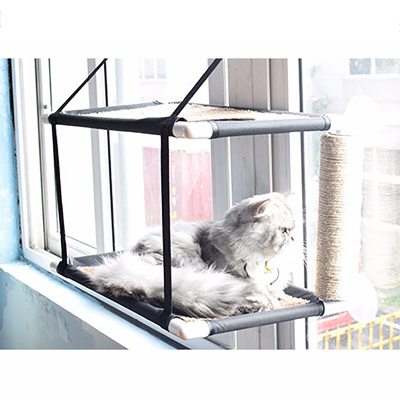 Top Quality Large Cat Window Hammock Putted On Everywhere Pet Small Cat Nest Bed Mat Dog Bed Cat Puppy Pad