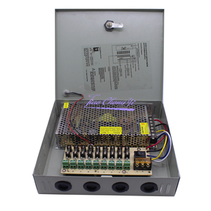 Image 2 - DC12V 10A Fused 9 Channel CCTV power supply switch box for surveillance camera Security output 120W,9 port CE, LVD Approved