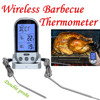 Double Probe Wireless LCD Remote Thermometer For BBQ Grill Meat Kitchen Cooking
