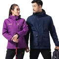 2017 New Famous Brand Winter Jacket Men Patchwork Warm Down Feathers Jacket Coat Hooded Windproof Outwear Hiking Jackets