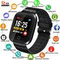 LIGE умный спортивный браслет для мужчин IP67 водонепроницаемые часы фитнес-трекер пульсометр Сфигмоманометр электронные часы для IOSAndroid