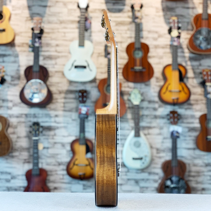 Ukulele 23 Inches Top Solid Spruce Acacia Mini Electri Concert Acoustic Guitars 4 Strings Ukelele Install Pickup Travel Guitar in Ukulele from Sports Entertainment