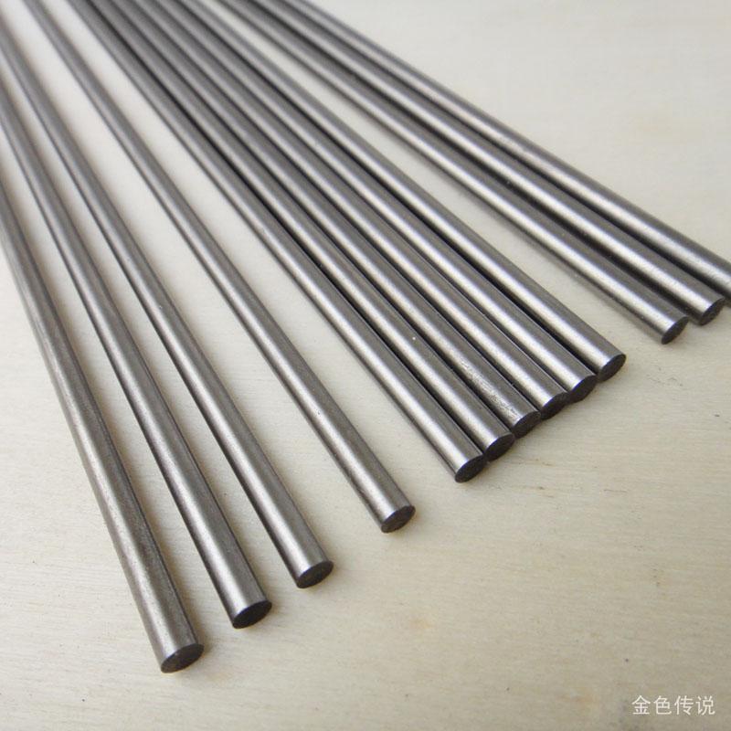 200mm 20cm Long Steel Shaft Metal Rods Diameter 2mm Diy