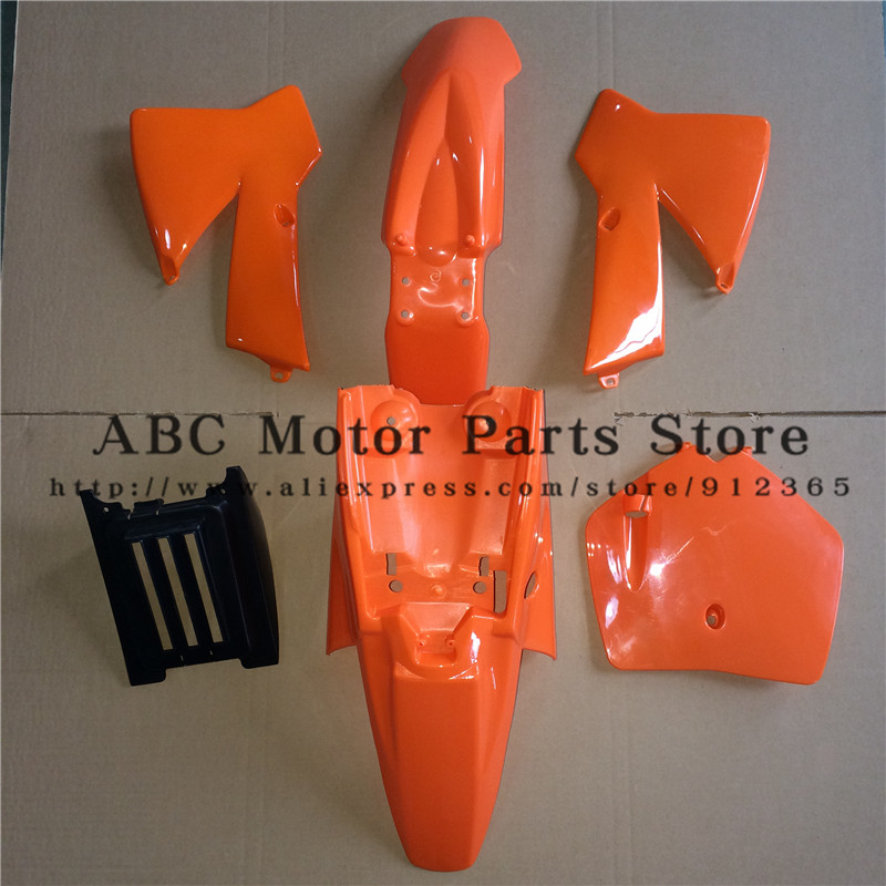купить OEM NEW KTM SX 50CC 50 50SX PLASTICS COVER KIT ORANGE KTM50 SENIOR JUNIOR JR SR BLACK WHITE FREE SHIPPING дешево