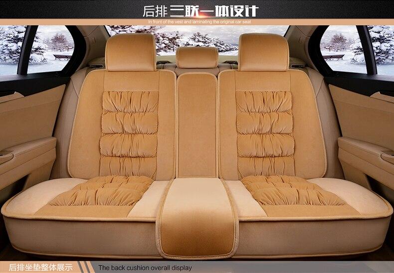 3D полностью закрытых зимние короткие плюшевые ботинки сиденья для Renault Живописный Fluence latitud Koleos Laguna Megane cc талисман сиденье Подушки