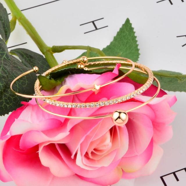 SINLEERY 3 Layers Bracelet...