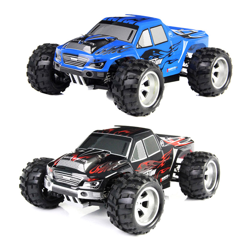 RC Car 2.4G 1/18 Scale 4WD Remote Control Model High Speed Off-Road RC Buggy For Wltoys A979 Vehicle Toys Children Gifts @ZJF