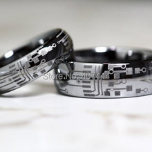 buy tungsten carbide heart rings and get free shipping on aliexpress com