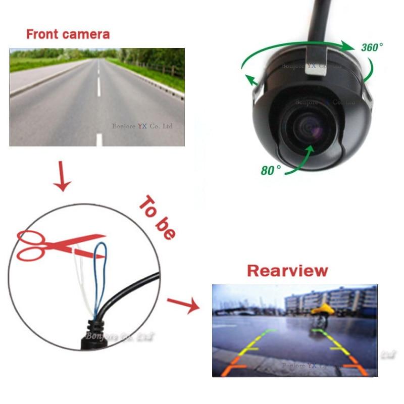 Koorinwoo HD Gece Görüş 360 derece Araba Dikiz Kamera Ön Kamera - Araç Içi Aksesuarları - Fotoğraf 2