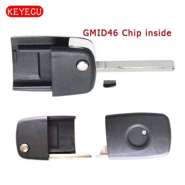 Keyecu удаленное лезвие + GMID46 чип внутри для Holden Commodore VE 2006-2013