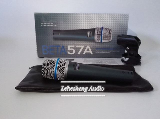 Top Quality Beta 57A Clear Sound Handheld Wired Karaoke Microphone