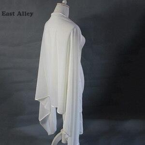 Image 5 - אביזרי חתונה הכלה שיפון דקה גלימת משיכת הכתפיים גלישת צעיף גנב צעיף כלה נשוי