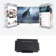 USB IDE/SATA адаптер Жесткий диск SATA к USB 3.0 передачи данных конвертер для 2.5/3.5/5.25 оптический диск HDD SSD США/ЕС
