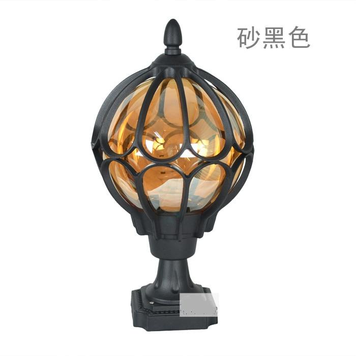 Lampes de colonne en plein air mode jardin lumière lampe extérieure livraison gratuite