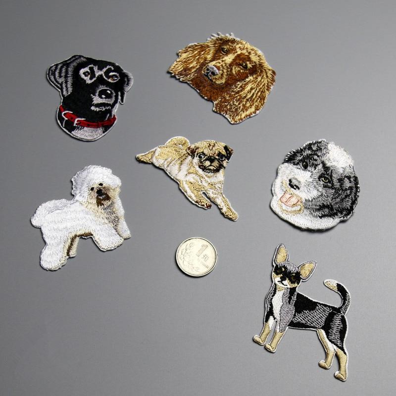 Různé roztomilé štěně Chihuahua železa na Patch malých psů Džíny záplaty pro oblečení šaty tričko DIY příslušenství