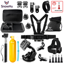 SnowHu For Gopro Accessories Protective Storage Bag Carry Case for Xiaomi Yi Go pro Hero 7 6 5 4 Sjcam Sj4000 Action Camera GS88