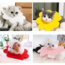 5Pcs Pet Elizabethan Collar Cat Recovery Wound Healing Protective Cone Photo Prop for Puppy Kitten