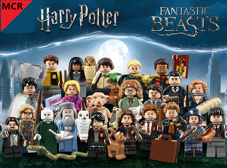 MCR Harry potter movie Building blocks little figure alubs dumbledore Mini legoing birthday gift hermione Action Figure star ace 1 6 harry potter hermione granger emma watson collectible action figure doll