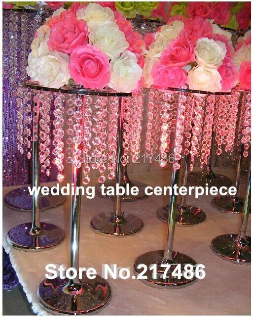 Crystal Flower Vase Centerpiece For Wedding Events&High