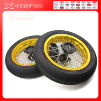 high quality Off road motorcycle modified accessories Front2.15 12 & Rear 2.50 12 inch wheels 120/70 12 INNOVA tires