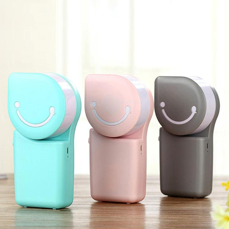 Mini Portable USB Rechargeable Air Conditioner Cooling Fan Handheld Cooler handheld usb 4xaa powered cooler air conditioner blue