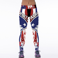 2017 Sexy Womens Workout Leggings For Joggers Fitness Legging High Waist Elastic Gymnasium Leggins New England