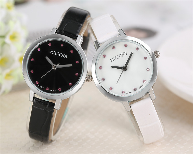 fashion quartz business chic watches stainless wrist brand item steel watch crystal new women luxury lady