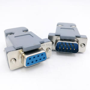 Socket Connector-Plug Shell Serial-Adapter DB9 D-Type Female Rs232 Com 9-Pin-Hole-Port