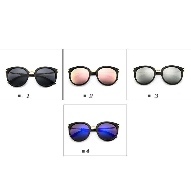 2019 New Sunglasses Women Driving Mirrors vintage For Women Reflective flat lens Sun Glasses Female oculos
