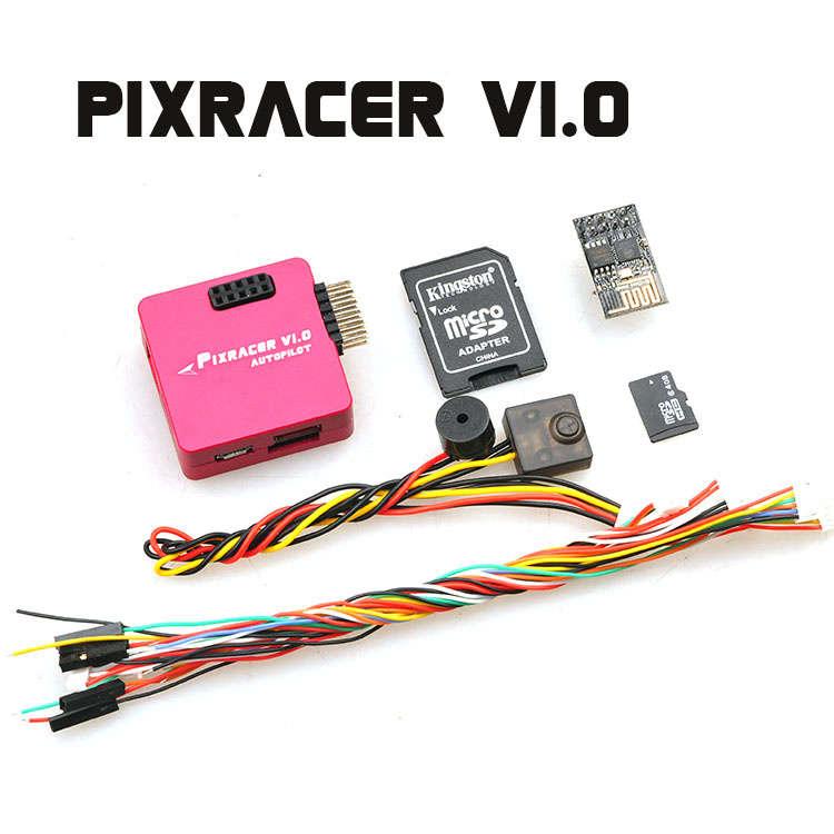 Multi-color Pixracer V1.0 Autopilot Xracer FMU V4 Mini Pixhawk PX4 Flight Controller for RC Multicopter 2017 the new pixracer and hight quality black pixracer autopilot xracer fmu v4 px4 flight control mini version light