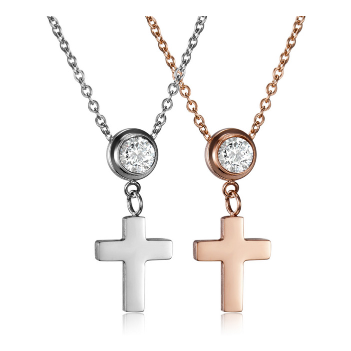 Cross necklaces crystal pendants necklaces for women trendy cross necklaces crystal pendants necklaces for women trendy necklaces rhinestone necklaces with heart cross brand jewelry aloadofball Image collections