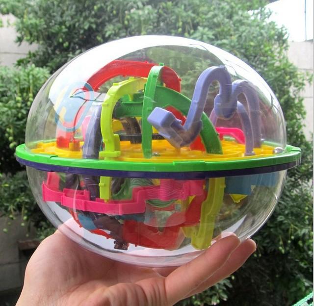 299 Níveis de Fantasia em 3D Bola Labirinto Mágico Intelecto Bola Crianças Brinquedos Educativos Brinquedos de Inteligência Magic Presente para As Crianças