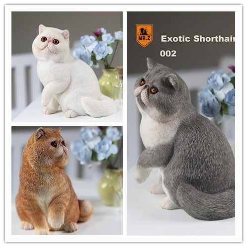 1:6 Scale Figure accessories Shorthair Cat Garfield for 12 Action figure doll Resin Animal model toy,not include doll and other 1 6 scale figure accessories french bulldog sleep for 12 action figure doll animal model toy not include doll and other