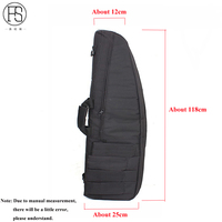 118CM Tactical Gun Bag Outdoor Sport Carry Bag Rifle Shooting Backpack Protection Case For Hunting Airsoft With Shoulder Strap