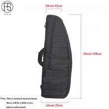 118 см тактический пистолет сумка спортивная сумка для переноски винтовка Стрельба рюкзак защитный чехол для Охота страйкбола с плечевой ремень