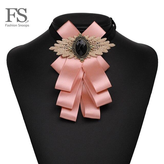 Fashionsnoops 8 цветов бантом ткань лук броши для Для женщин клип до булавки воротник новый шарм Мода вечерние заявление галстук ювелирные изделия