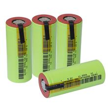 4pcs IFR 26650 lifepo4 35A 3500mAh 3.2V rechargeable battery 10 rate discharge with suitable DIY Nickel sheets for E cigarette