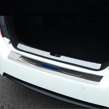 Bagasi Panel Belakang Pedal Kaki Mobil Kromium Auto Upgrade Gaya Dekorasi Cerah Payet 16 17 18 19 untuk Honda civic
