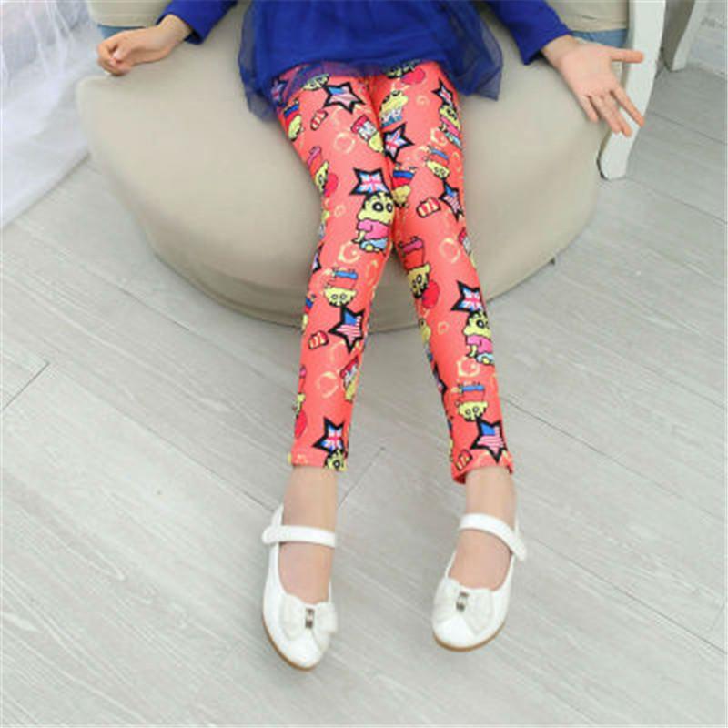 New Style Spring Autumn Children Leggings Flower Butterfly girls pants kids legging 18