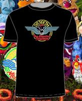 Gildan Top Quality Retro DR.TEETH & THE ELECTRIC MAYHEM (muppets) T-Shirt in 3 Styles men t shirt