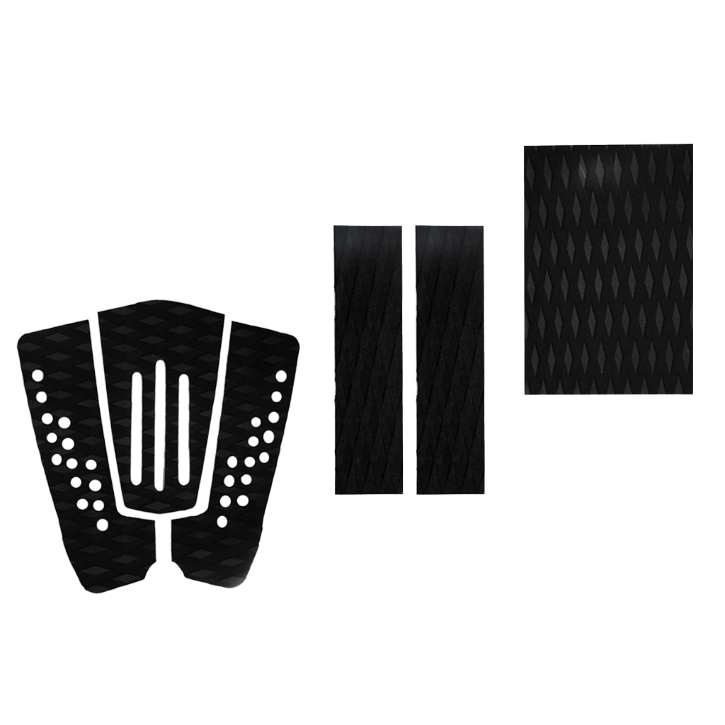 6x Non-slip EVA Surfbaord Traction Pad Tail Pad Grip Surfing DIY Accessories Surfboard Traction Pad Surf Grip Pad