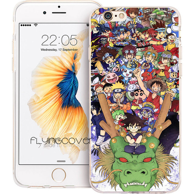coque goku iphone 8